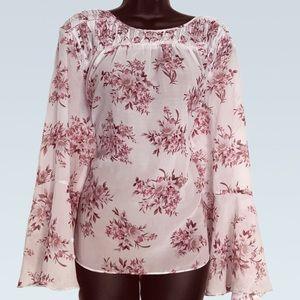 Jessica Simpson floral blouse
